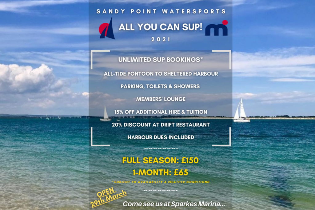 sandy point watersports membership