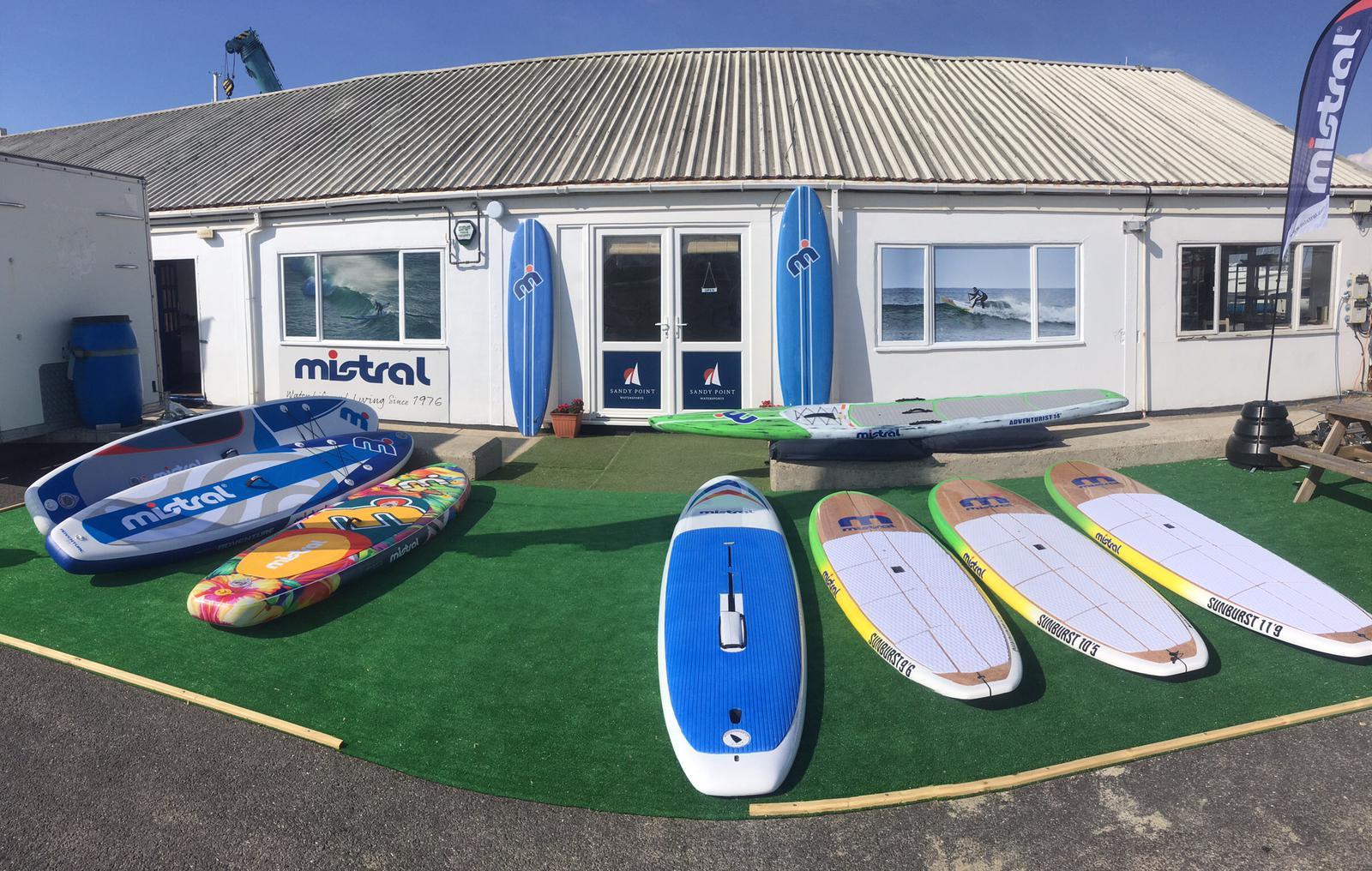 Sandy point watersports shop